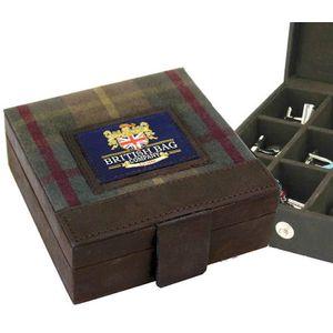 British Bag Company Millerain Cufflink Trinket Box