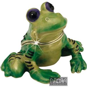 Little Paws Frog Trinket Box