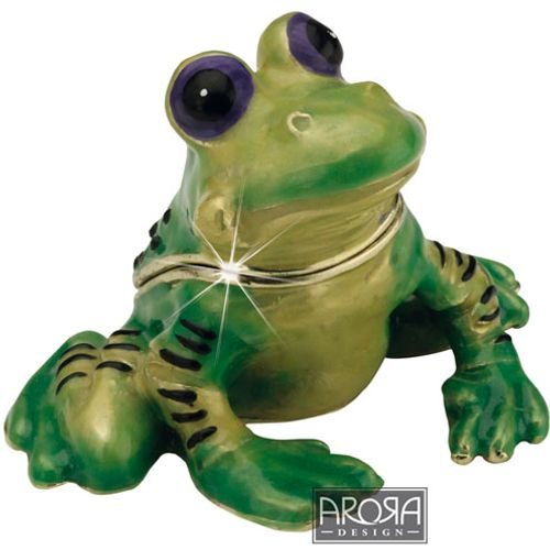 Arora Design Secrets Trinket Box  - Frog