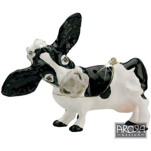 Little Paws Dairy Cow Jewellery Trinket box
