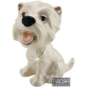Little Paws Westie Trinket Box