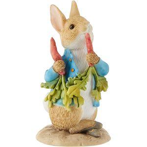 Beatrix Potter Peter Rabbit Mini Figurine - Peter Ate Some Radishes
