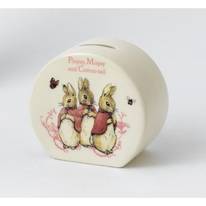 Flopsy, Mopsy and Cotton-Tail Money bank
