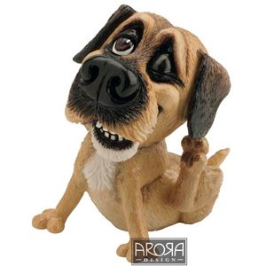 Little Paws Bob Border Terrier Dog Figurine