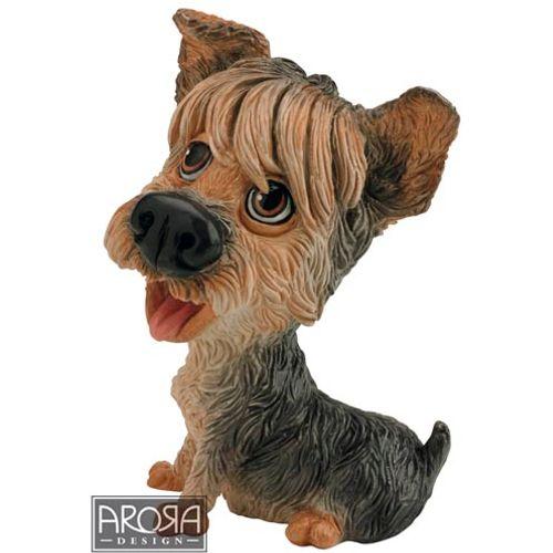Little Paws Dog Figurine Yorkshire Terrier
