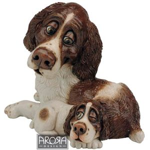 Pets with Personality Springer Spaniel Mother & Pup