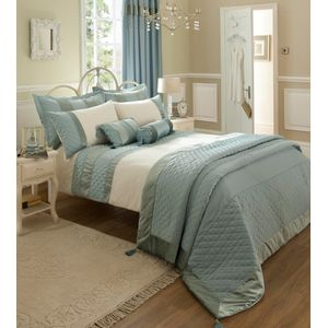 Classique Duckegg Single Bed Quilt Cover Set