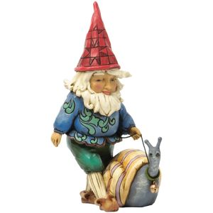 Heartwood Creek Gnome With Snail