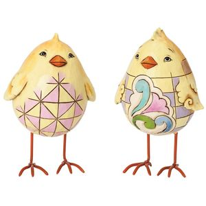 Heartwood Creek Mini Egg Shaped Chicks (Set 2)