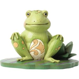 Heartwood Creek Bounce with Me (Frog On Lily Pad) Figurine