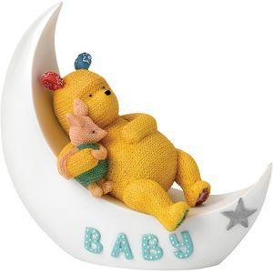 Disney Classic Pooh- Baby Pooh & Piglet on Moon