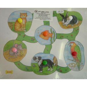 Lift & Look Puzzle - Pets