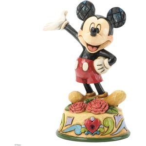 Birthstone Mickey Mouse (January) Figurine
