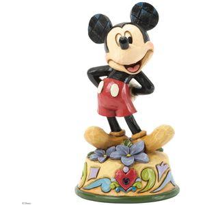 Birthstone Mickey Mouse (February) Figurine