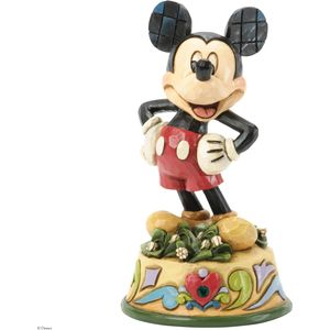 Birthstone Mickey Mouse (May) Figurine