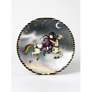 Santoro Gorjuss Wall Plate - The Runaway