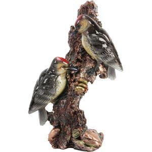 Juliana Natural World Bird Figurine - Woodpeckers