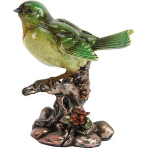 Juliana Natural World Bird Figurine - Tomtit on Branch