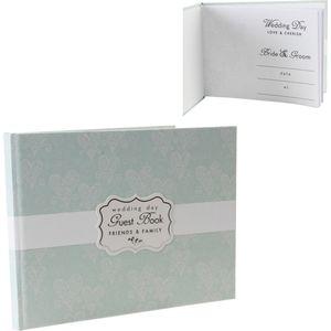 Love & Cherish Guest Book - Wedding Day