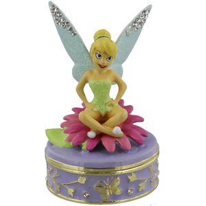 Disney Classic Trinket Box - Sitting Tinker Bell