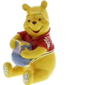 Disney Moments Winnie The Pooh & Friends Trinket Box - Pooh (Sitting)
