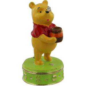Disney Winnie The Pooh Trinket Box - Pooh with Honey