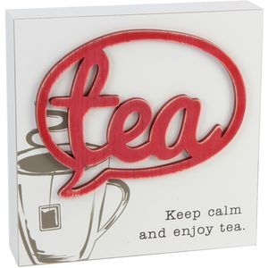 Juliana Home Living Wall Plaque - Tea
