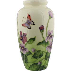 Old Tupton Ware Primrose & Butterfly Collection - Large Vase (29cm)