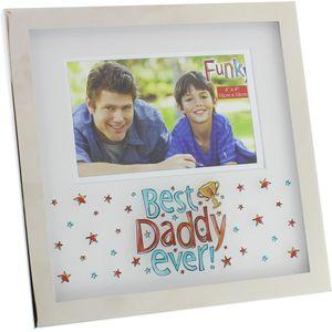 "Blue Eyed Sun Best Daddy Ever Photo Frame 6x4"""