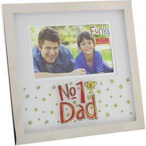 Blue Eyed Sun No1 Dad Photo Frame 6x4""