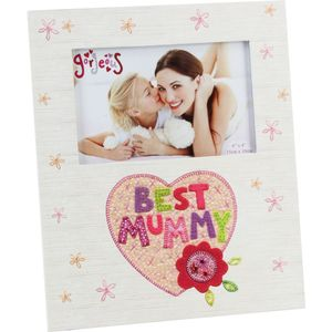 Best Mummy Photo Frame 6x4""