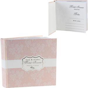 "Love & Cherish Photo Album 4""x6"" Bridal Shower"