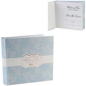 "Love & Cherish Photo Album Holds 80 4"" x 6"" Prints - Wedding Day"