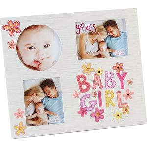 Baby Girl Multi Photo Frame