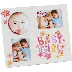 Gorgeous Collage Photo Frame - Baby Girl