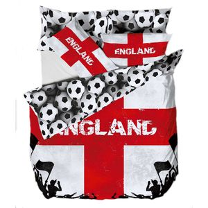 Official England Football Bedding Single Quilt Set