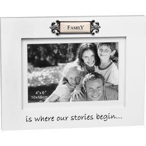 "Loved Ones Photo Frame 4"" x 6"" - Family"