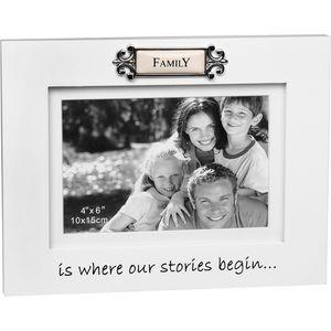 "Loved Ones Photo Frame 4"" x 6"" - Family"