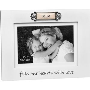 "Loved Ones Photo Frame 4x6"" - Mum"