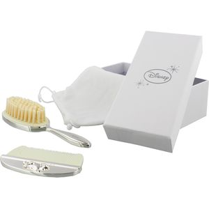 Disney Silver Plated Hair Brush & Comb Baby Gift Set - Winnie the Pooh