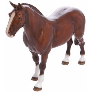 John Beswick Welsh Cob Bay Horse Figurine