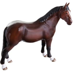 John Beswick Hunter Bay Horse Figurine