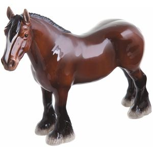 John Beswick Shire Bay Horse Figurine