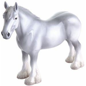 John Beswick Shire Grey Horse Figurine