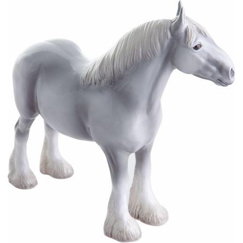 John Beswick Shire Grey Horse Figurine JBH40GR