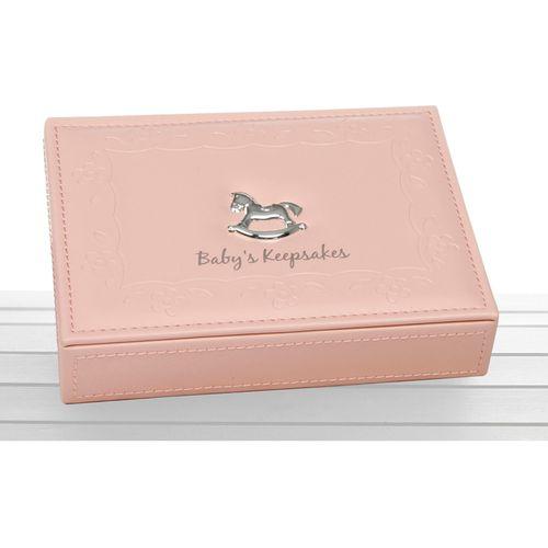 Baby Girl Keepsake Memory Box (Pink)