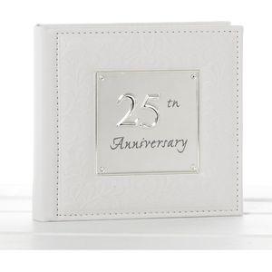 Deluxe Anniversary Photo Album - 25th