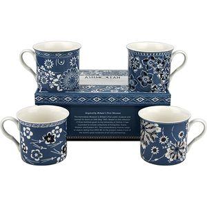 Heath McCabe Ashmolean Empress Kimono Set of 4 Mugs