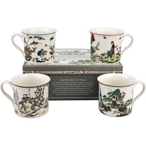 Heath McCabe Ashmolean Empress Chinoiseries 4 Mugs
