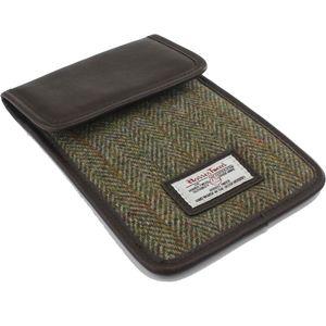 Harris Tweed Mini Tablet Case: Hunter Green
